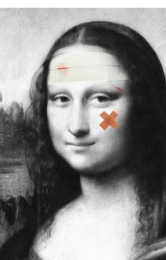 Restored Mona Lisa by filippobassanoFosterginger.Pinterest.ComMore Pins Like This One At FOSTERGINGER @ PINTEREST No Pin Limitsでこのようなピンがいっぱいになるピンの限界