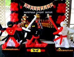 Ninjago Party by Mariposa Event Decor https://www.facebook.com/mariposaeventdecor