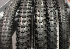 All of these pictured will use a 'downhill' construction which features dual-ply cas. Mountain Bike Tires, Mountain Biking, Mtb Bike, Bmx, Rebounding, Sports Equipment, Tired, Bicycles, Im Tired