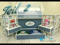 Slider Cards, Exploding Boxes, Stampin Up Christmas, Popup, Stamping Up, Toy Chest, Diy And Crafts, Workshop, Packing