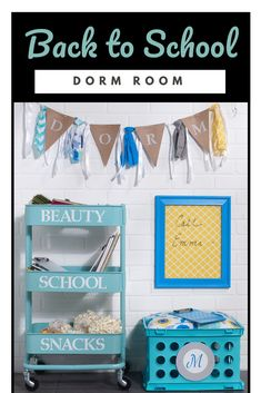 Itu0027s Back To School, Use Waverly Inspirations To Make Some Super Fun Diy  Dorm Decor