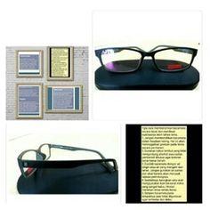 Frame Kacamata Pria Wanita Goggles Warna Hitam High Quality !!! Best Price ! 93118eb3d5