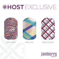 Host Exclusive wraps for June, July and August. If you would like one or more of these wraps, please contact me and we can organise a party for you and your friends.