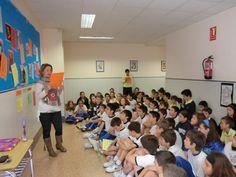 Certamen de poesía enmarcado dentro de las actividades para conmemorar el Día del Libro - Colegio San Cristobal - Castellón.