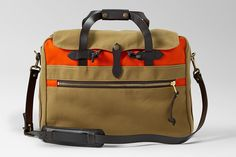 Filson Color Block Bags