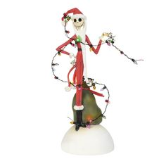Department 56 Grinch Wrapped In Lights Lighted Christmas Ornament