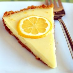 Weight Watchers Creamy Lemon Pie -I've actually made this recipe and it is delicious...works just as well with Lime :)
