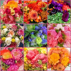 The French Tangerine: ~ flamboyant floral