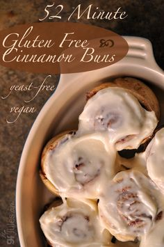 how to make cinnamon buns without milk