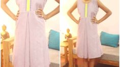DIY Pleated Dress. Frock For Summers