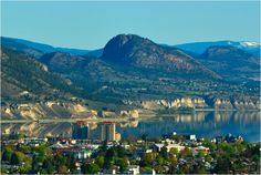 Glorious Penticton! I live HERE!! Wha!? That's right... this is the beautiful city that I love!!! <3