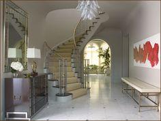 Dream foyer.  Jan Showers!!