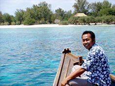 Lombok-Alam Gili Trawangan - met familie garden bungalows.