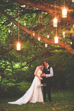 """.omg i want to create this in my backyard under """"the tree of life"""" as we like to call it...isn't this romantic!??"""