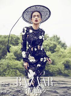 """W u X i a xxxshakespearexxx: """"Shu Qi Shu Qi"""" China Fashion, Fashion Art, Fashion Outfits, Ethnic Fashion, Shu Qi, Female Knight, Couture Details, Oriental Fashion, Chinese Actress"""