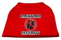Mirage Pet Products 14-Inch Backyard Security Screen Print Shirts, Large * Find out more about the great product at the image link.