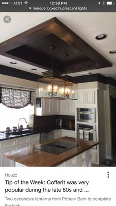 Kountry Kitchen House Improvements Ceiling Ideas Lighting Projects Designs Cabinets Cabin Fever