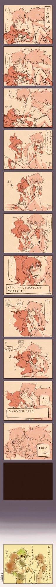 Kabocha Torute... Love I // Pkm Pokemon N Kiss Ecchi