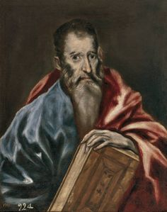 """""""Un apóstol"""", Taller de El Greco (1608-1614)"""