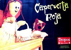 Caperucita Roja de Tropos Teatro de Títeres