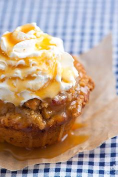 Apple Pie Cupcake Recipe - These look amazing!  Definitely a must try!