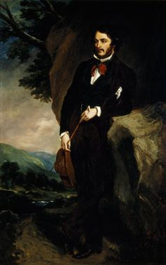 LORD JOHN MANNERS, later 7th Duke of Rutland (1818-1906) after Sir Francis Grant, P.R.A. (1803-78) at Hughenden Manor in the Garden Hall -   Property Name Hughenden Manor Estate