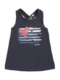 Ropa Niña - Camiseta marino corazón - camisetas - QTS055 - Canada House