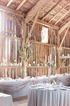 Canadian Farm Wedding  Read more - http://www.stylemepretty.com/canada-weddings/ontario/toronto/2013/12/11/canadian-farm-wedding/