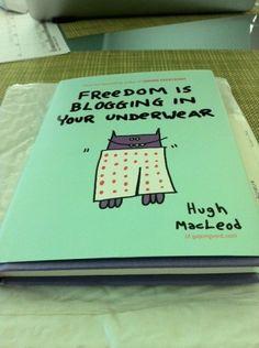 De vrijheid van bloggen