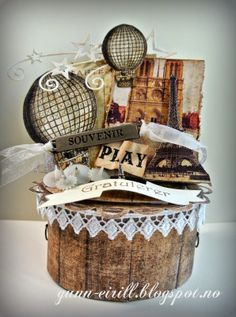 Box With Prima papers