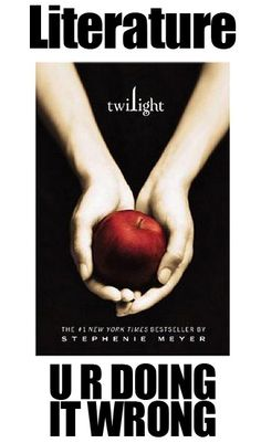 doing it wrong twilight book