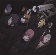 Qual é o seu preferido da Akatsuki? O meu é o Pain/Nagato e o Deidara