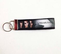 Check out this item in my Etsy shop https://www.etsy.com/listing/230051174/supernatural-key-fob-keychain-wristlet