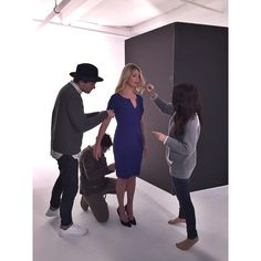 On set today shooting our #Fall15 look book, styled by #TeamCE's @TCarterPhillips & shot by @denisebehrens #BTS