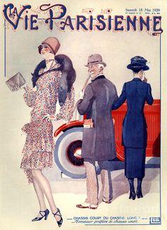 Chásis largo o chásis corto - La Vie Parisienne 1929