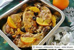 Mézes-narancsos csirkecomb | NOSALTY – receptek képekkel