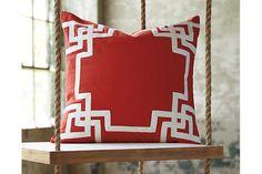 Orange Vassal Pillow and Insert by Ashley Furniture