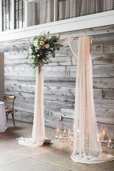 Rustic Wedding Backdrops, Wedding Ceremony Arch, Ballroom Wedding, Decor Wedding, Fall Wedding, Our Wedding, Dream Wedding, Wedding Rings, Wedding Venues Toronto