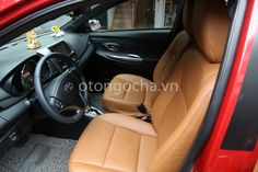 Ghế da bò 70% Toyota Yaris 2015