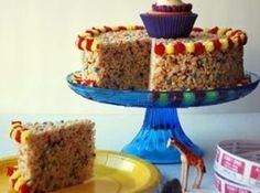 crispy carnival cake