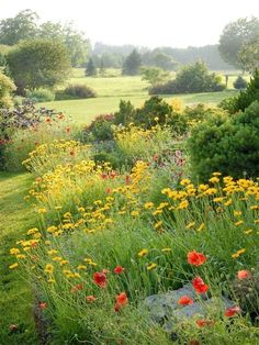 Spring is when life's alive in everything ~ alive countryside Spring is part of Garden spaces -