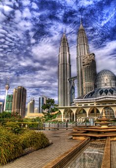 Someone made a comment that this looks like the Klingon capital… from some alien sci-fi show that I have never heard of. - KUALA LUMPUR, MALAYSIA - photo from #treyratcliff Trey Ratcliff at http://www.StuckInCustoms.com