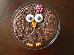 """""""Brownie Owl""""  Bronwyn's 8th Birthday Cake"""