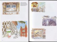 Spirited Away: 040 Miyazaki Spirited Away, Hayao Miyazaki, Spirit World, Fantasy Films, Ova, Studio Ghibli, Book Art, Vintage World Maps, Gallery Wall