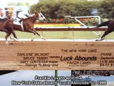 """Racing Term #205 """"Oaks"""" of Frankie Lovato's 365 Days of Terminology - YouTube"""