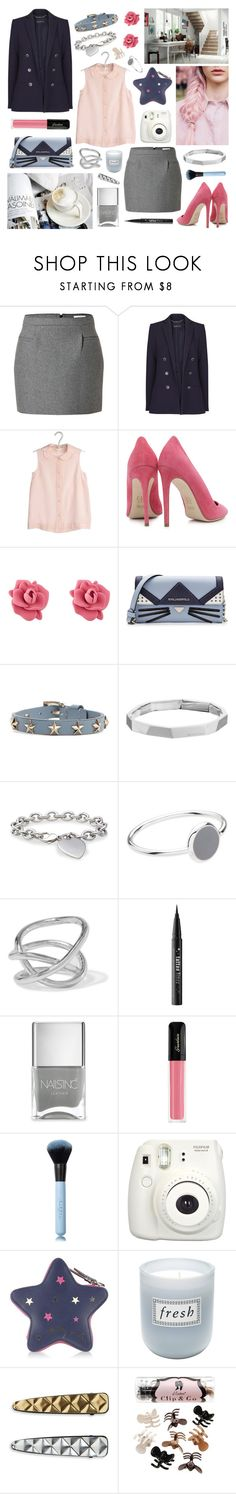"""""""you'll never get anything better than this"""" by surma ❤ liked on Polyvore featuring J.W. Anderson, MANGO, Delphine Conty, Dee Keller, Marc by Marc Jacobs, Karl Lagerfeld, RED Valentino, Michael Kors, Blue Nile and Witchery"""