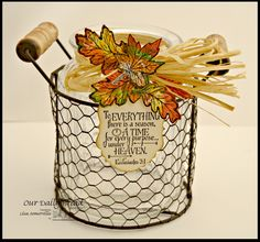 Designs by Lisa Somerville: Home Decor Fall Leaves - Bloggers Challenge