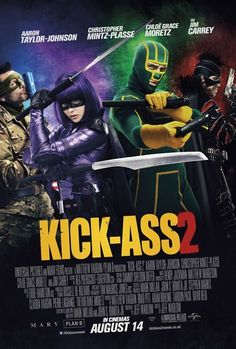 New International Poster for Kick-Ass 2