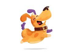 The dog by DAN Gartman #Design Popular #Dribbble #shots