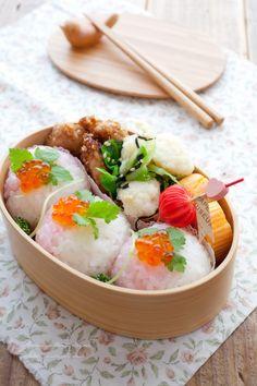 桃の節句★桃色手まり寿司のお弁当~女の子のお弁当~|毎日がお弁当日和♪